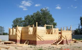 Строительство дома на земельном участке