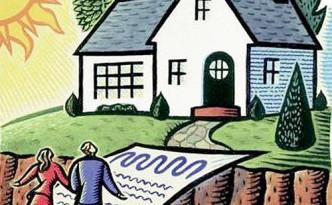 Мужчина и женщина заходят в дом