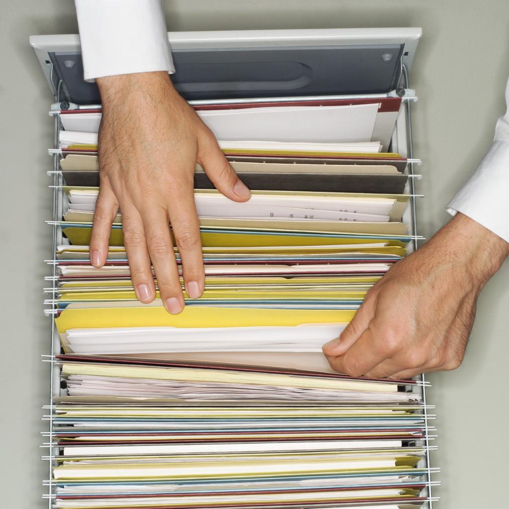 Хранение документов в папках