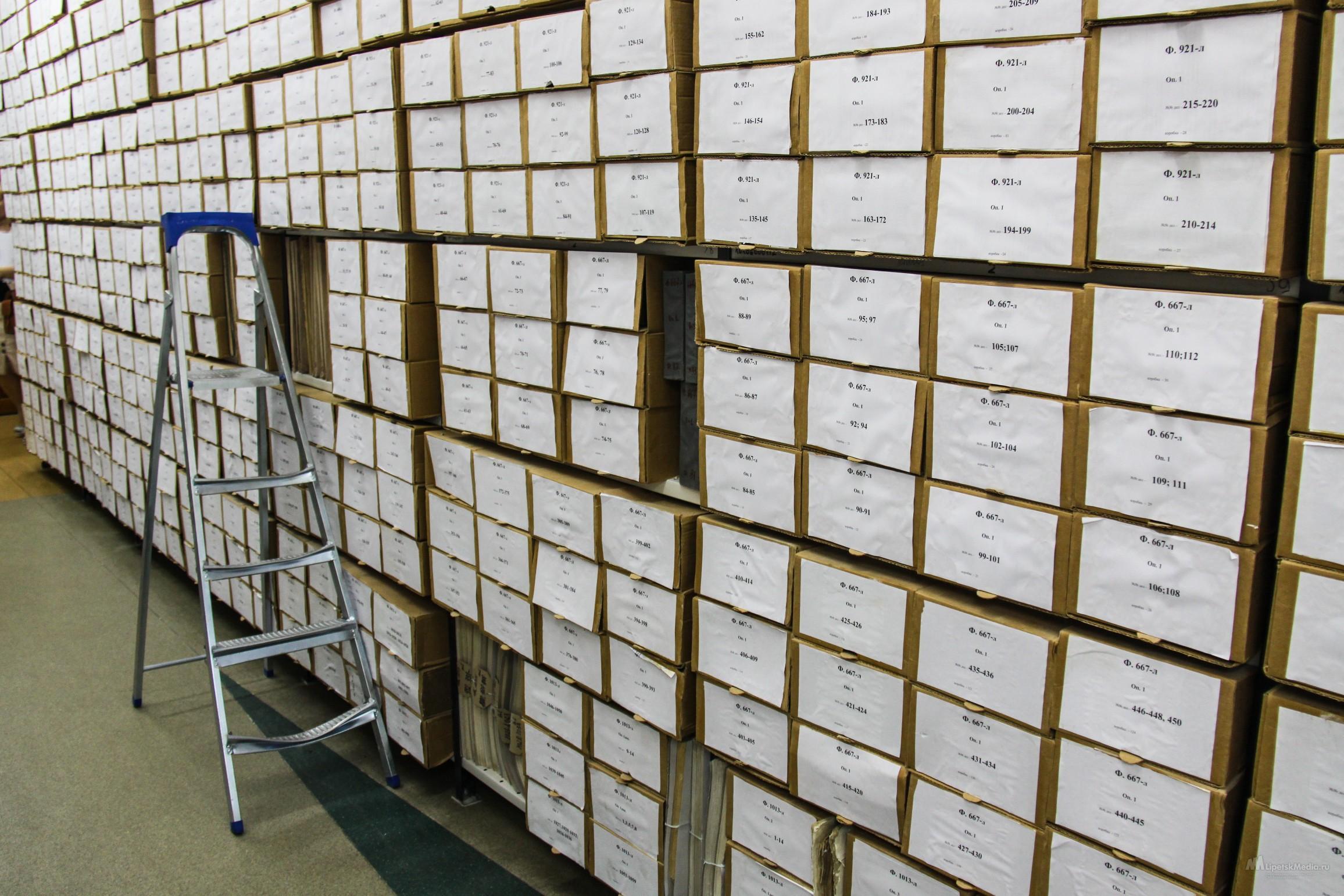 Ящики для хранения документов
