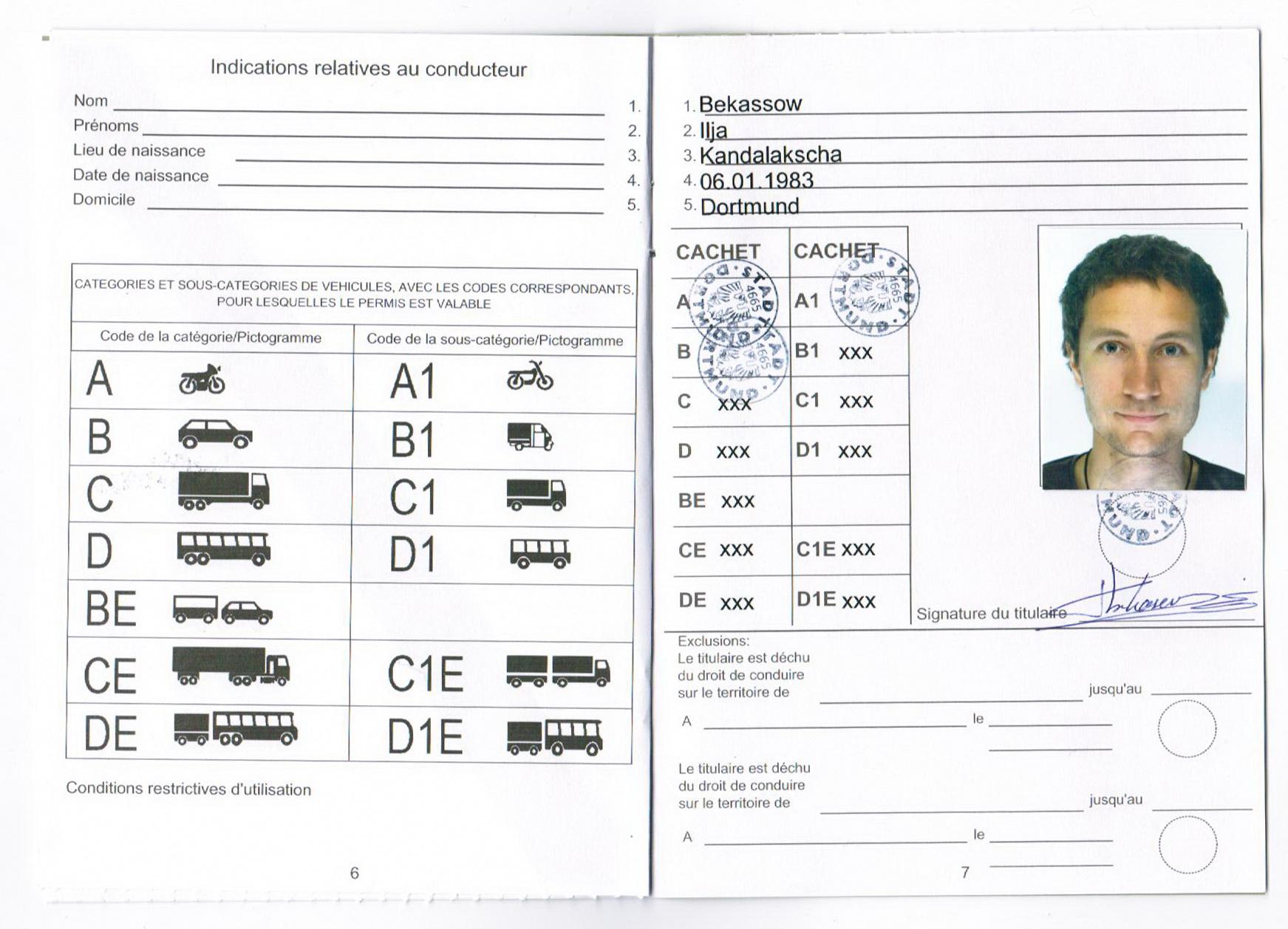 Международное водительское удостоверение фото