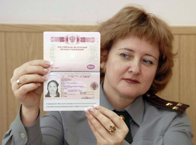 Паспорт гражданина России фото