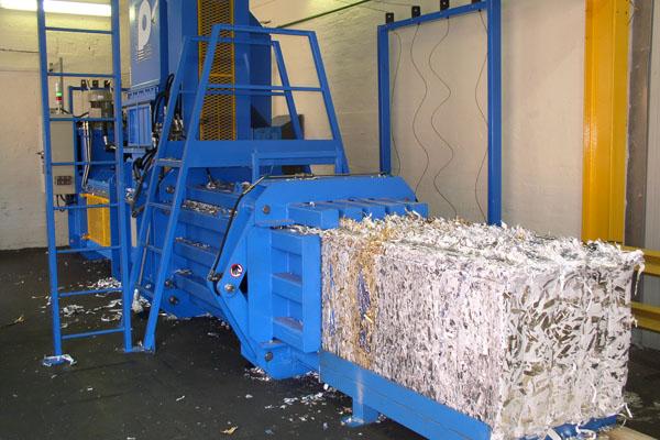 Машина для уничтожения документации