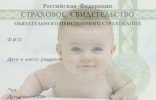 Ребенок и СНИЛС фото