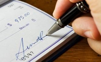 Фото подписи на документе