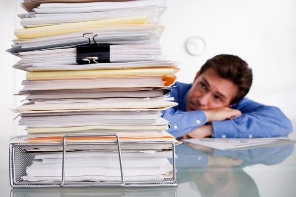 Подготовка документов занимает немало времени