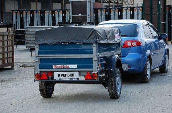 Для прицепов до 750 кг достаточно водительской категории B