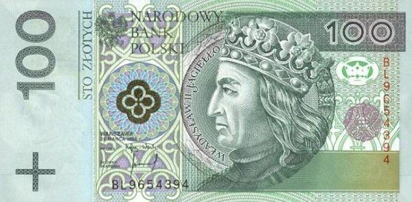 При открытии польской визы на счету должно быть минимум 100 злотых