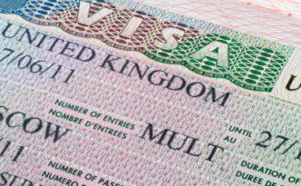 Список документов на визу в Великобританию