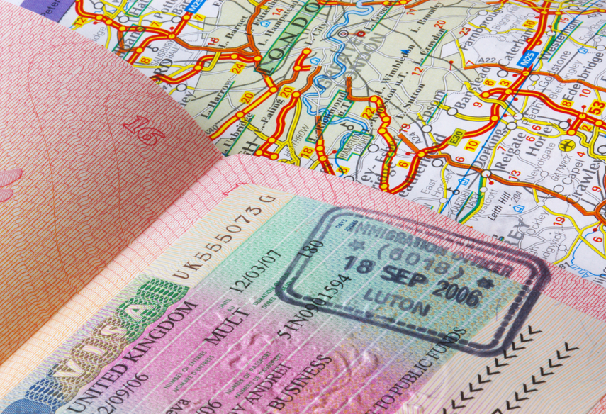 Для оформления английской визы нужно обязательно собрать все документы